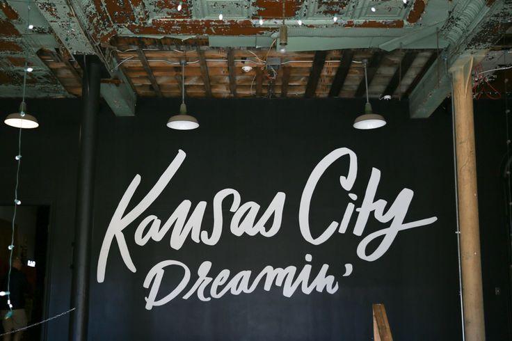 Kansas City Dreamin' Wall inside Easy, Tiger 1408 W 12th St Kansas City, MO