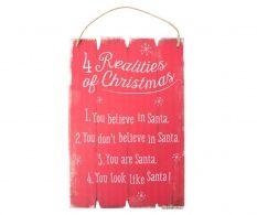 Decoratiune de perete 4 Realities of Christmas