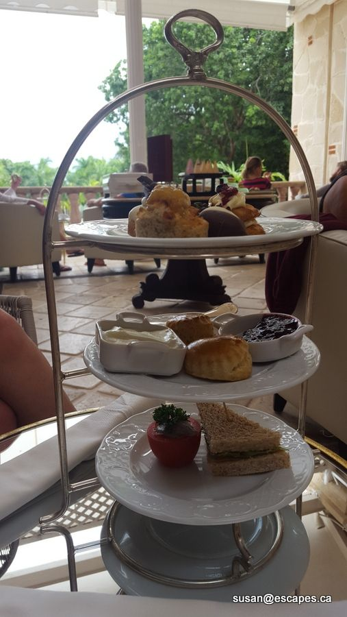 Royal Hideaway. Adult only. High tea with tasty treats. Served daily
