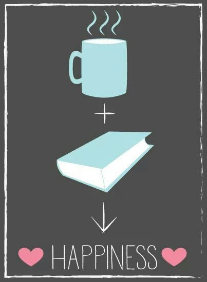 Tea+Books=Happiness