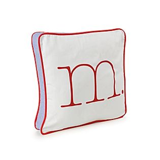 Red Typewriter Letter Pillow for Mister M