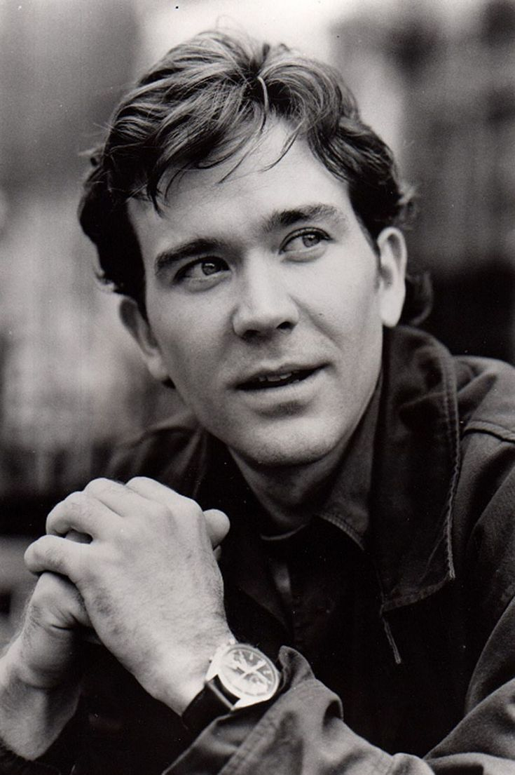 I do enjoy the sight of Timothy Hutton especially when he played Archie Goodwin in the Nero Wolfe series from Rex Stout's novels.