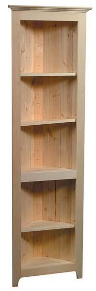 Corner Shelf By Archbold Furniture Available At Rowan Oaks Furniture And  Painting