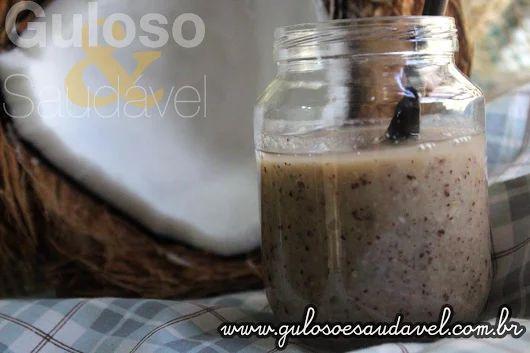 A Pasta de Coco Caseira também conhecida como manteiga de coco é uma delicia e está a ficar famosa...  #Receita aqui: http://www.gulosoesaudavel.com.br/2016/08/02/pasta-coco/