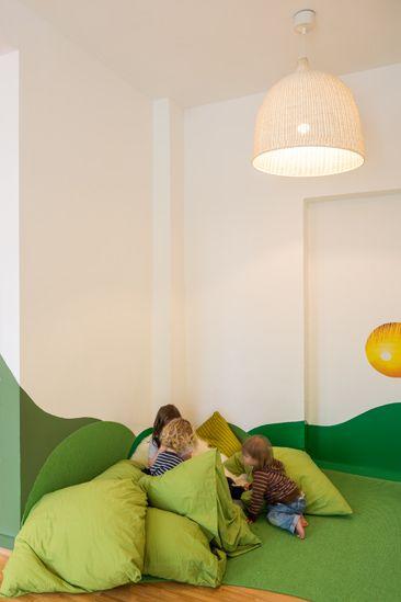 A modern green kindergarten – TimeForDeco.com