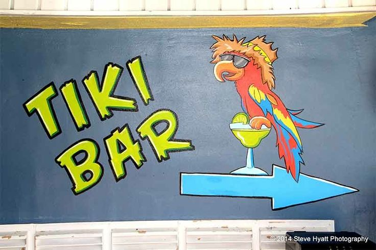 Grab the gang and head on out to friday night at the tiki