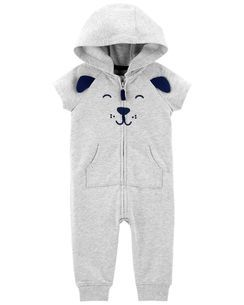 1db9b9cd5 Dog Hooded Jumpsuit | #3 Baby Carter's | Pinterest | Carters baby boys, Carters  baby and Babies
