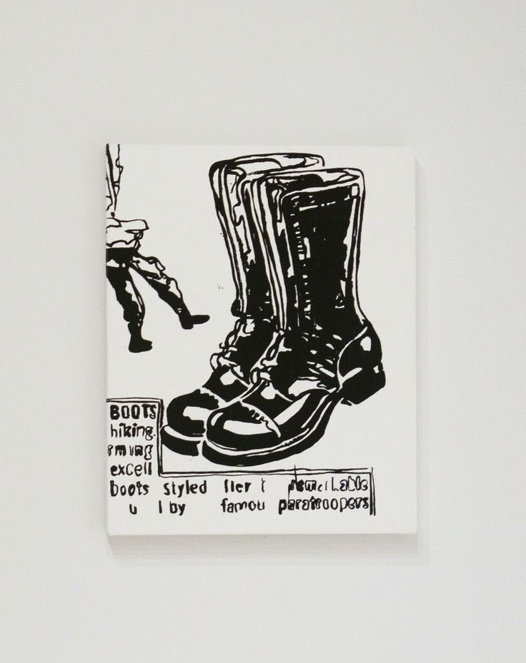 Paratrooper Boots   Andy Warhol, Paratrooper Boots (ca. 1985)