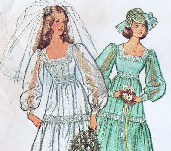 1377 Best Vintage Bridal Patterns Images On Pinterest