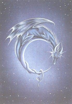 Moon Dragon by Sirenic Angel, via Flickr- my next tattoo?