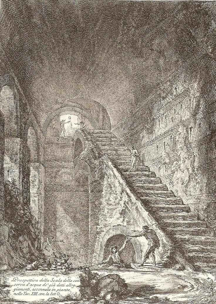... precipitous staircases...