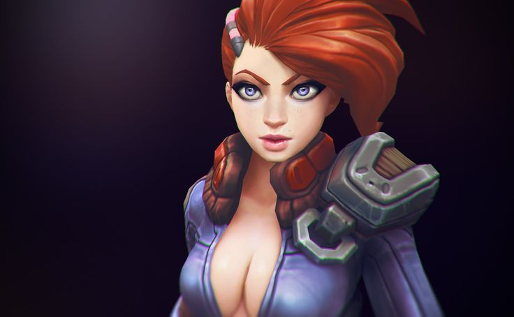 3D Hand-painted Character For Games