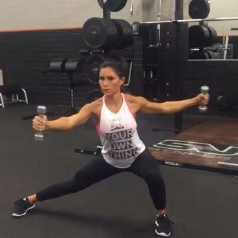 Shoulder workout  by @alexia_clark