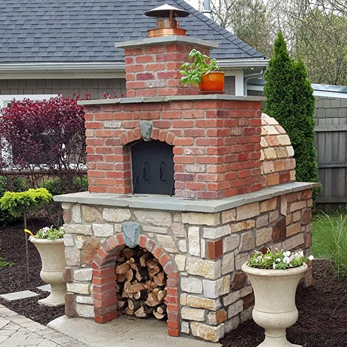 Amazon.com: Brick Pizza Oven • Wood Fired Pizza Oven ...