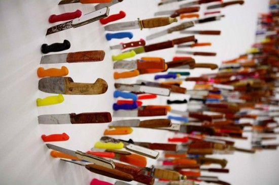 Life is Beautifulis an installation by Iranian artistFarhad Moshiri