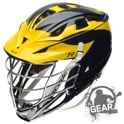 The michigan wolverines have busted out a really unique looking custom cascade r helmet for the 2014 season and weve got an exclusive