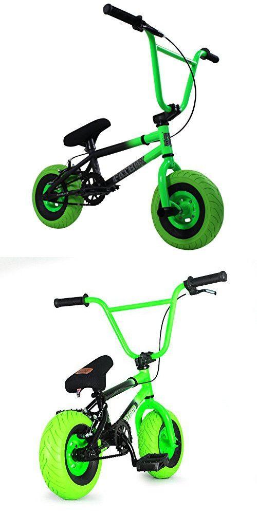 Fatboy Mini BMX Assault Stunt Bike (Black/Neon Green)