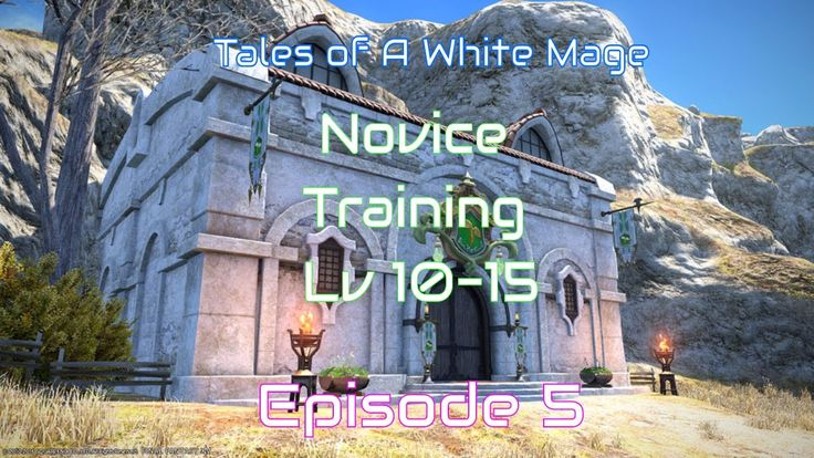 Tales of a White Mage :: FFXIV A Realm Reborn :: Novice Training Grounds...
