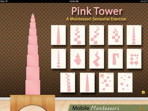 Pink Tower app