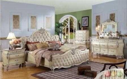 Set Tempat Tidur Pengantin Jok Mewah | Desain Terbaru | Furniture Kamar Terbaru