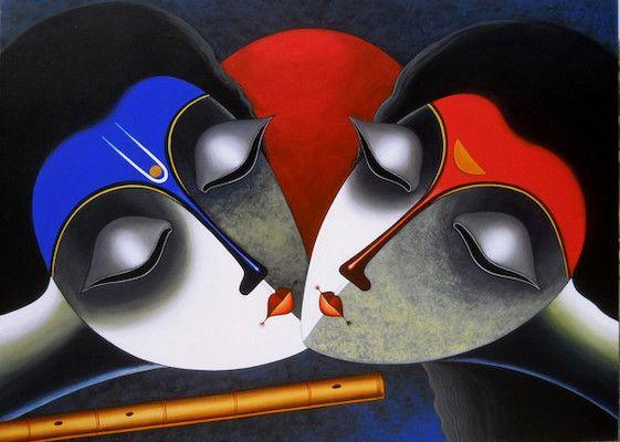 An Eternal Bond by Santosh Chattopadhyay on Artflute.com