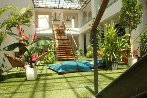 Rossio Patio Hostel, Lisbon, Hostels for Design Lovers
