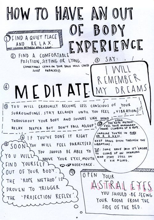 how to achieve out of body experience