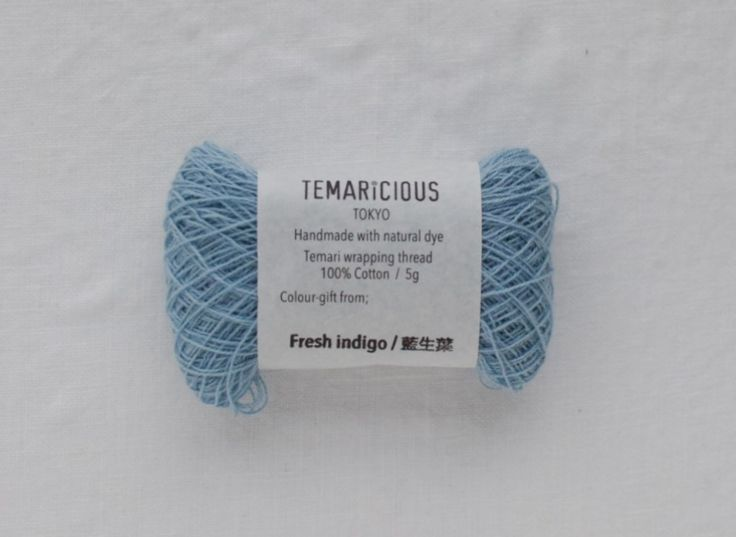 Temaricious thin thread 5g/140m no.B8  for Temari wrapping, embroidery, sashiko, kogin etc.
