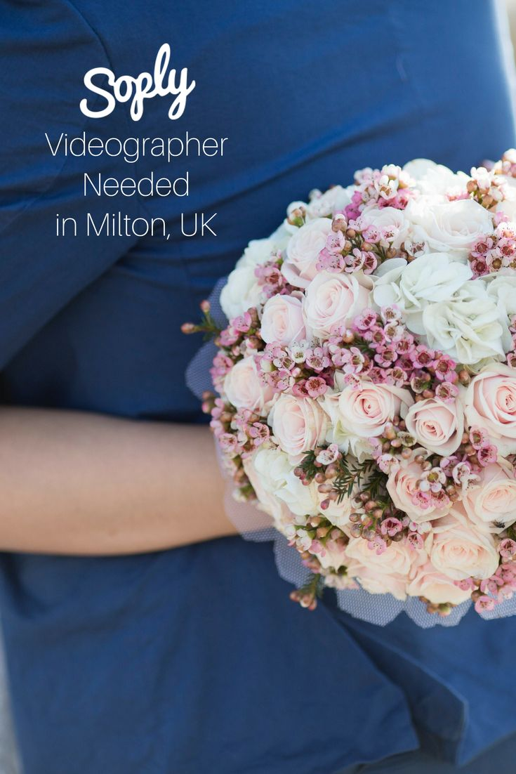 #Videographer needed for a #wedding in #Milton #United Kingdom on July 21st. See the #videography job and apply by clicking the pin!