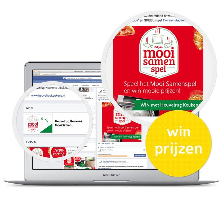 #Win mooie prijzen van Pelgrim! Speel het Heuvelrug Keukens MooiSamen spel op de Facebook tab van Heuvelrug Keukens! Speel hier mee https://www.facebook.com/pages/Heuvelrug-Keukens/449731411770227?id=449731411770227&sk=app_190322544333196 #prijzen #social #facebooktab