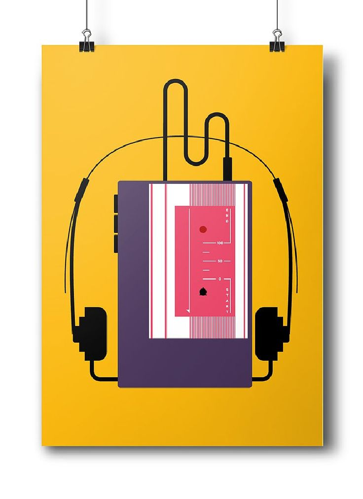 """Poster of the first graphic series """"Oldschool """""""