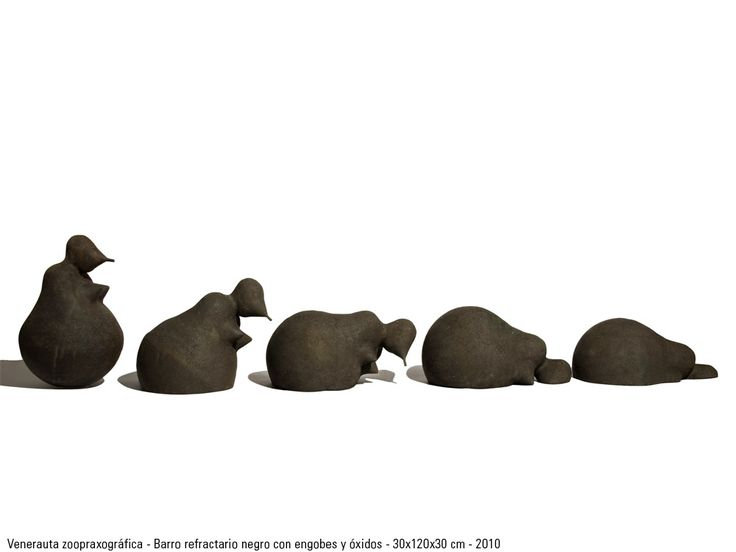 Venerauta zoopraxográfica - Cerámica refractaria www.lobobarbarroja.com