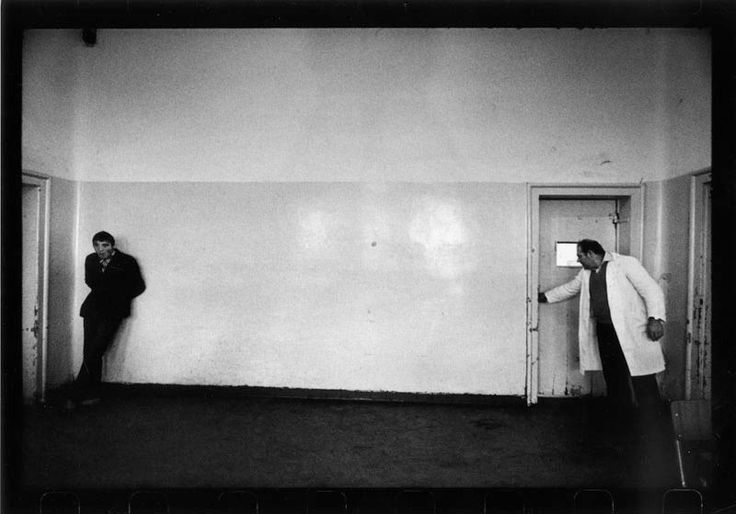 Raymond Depardon. Images from psychiatric hospitals  throughout Italy