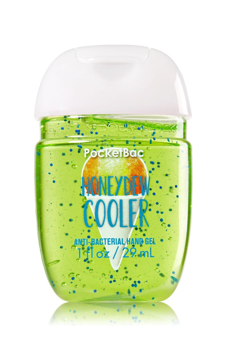 Bath Body Works Honeydew Cooler Pocketbac Sanitizing Hand Gel