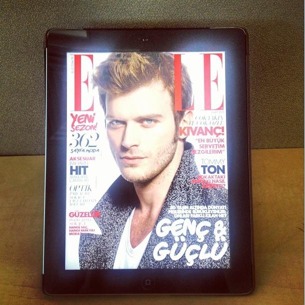 @elleturkiye  Zenginleştirilmiş içeriği ve özel sürprizleriyle ELLE Türkiye iPad'de! Üstelik ilk üç ay ücretsiz!