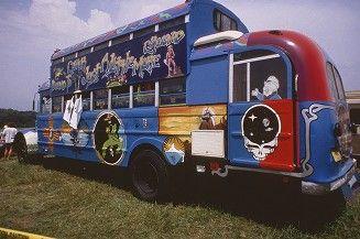 Grateful Dead Archive Online | Deadhead bus, ca. 1992