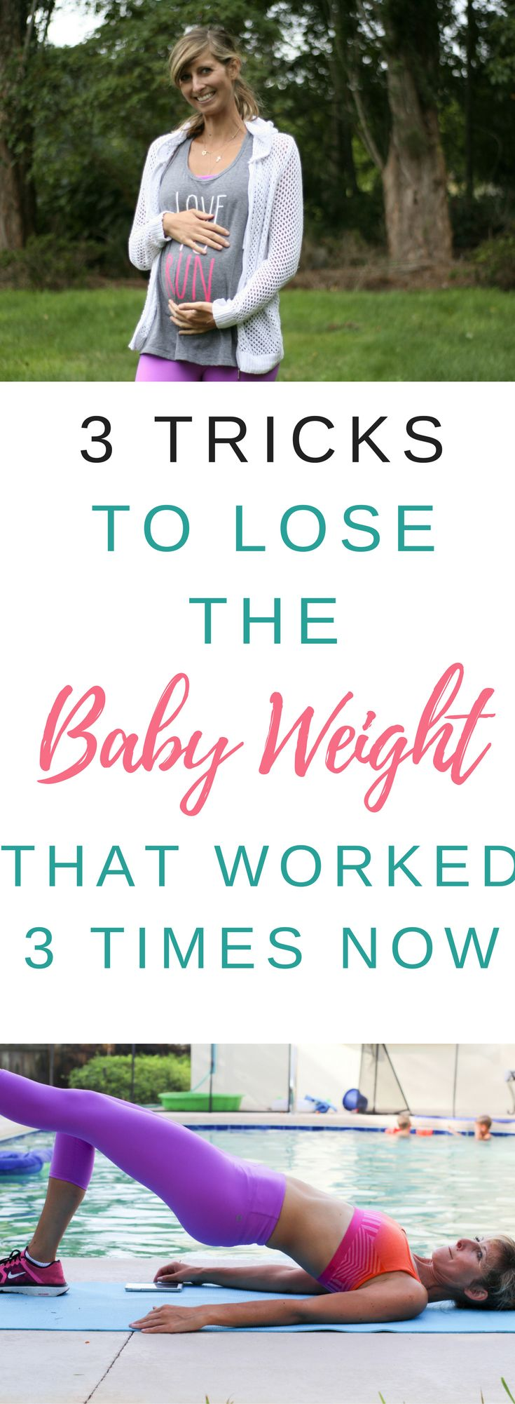 3 tricks i use to lose the baby weight that worked three times now