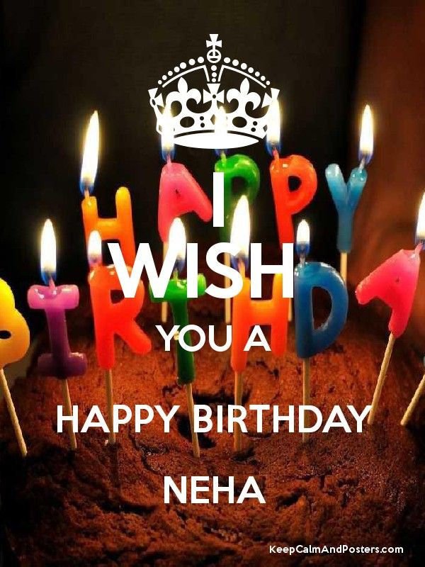 Happy Bday Neha Happy Birthday Name Birthday Birthday Name