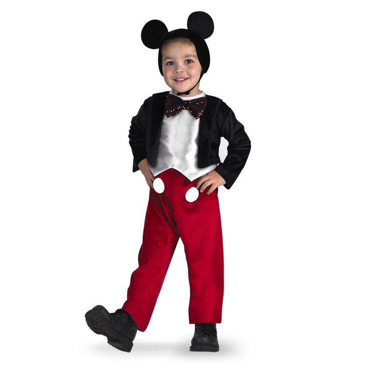 Boys will look adorable dressed in any of these Disney Mickey Mouse Halloween costumes. These Mickey Mouse costumes are fun, colorful, and oh so sweet.