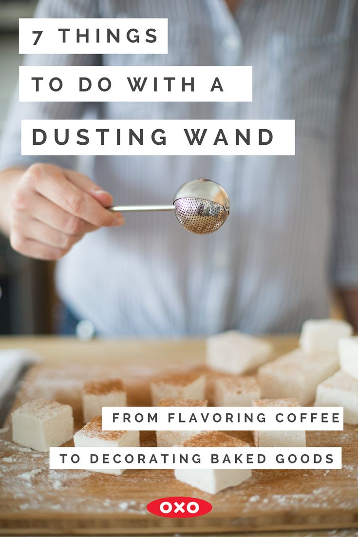 Decorating cookies? Adding flavor to warm winter beverages? Seasoning popcorn? Check out these 7 awesome things you can do with a Baker's Dusting Wand!