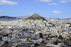 View from Acropilos, Athens, Greece