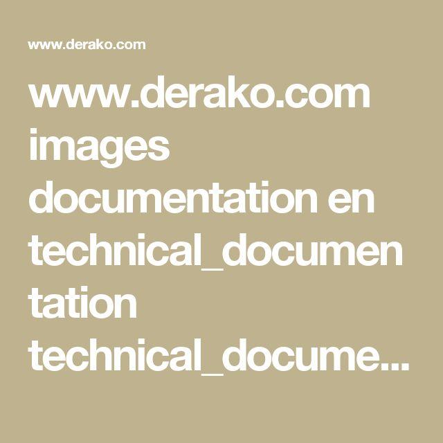 www.derako.com images documentation en technical_documentation technical_documentation_linear_en.pdf