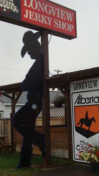 Longview Jerky Shop, The Cowboy Trail