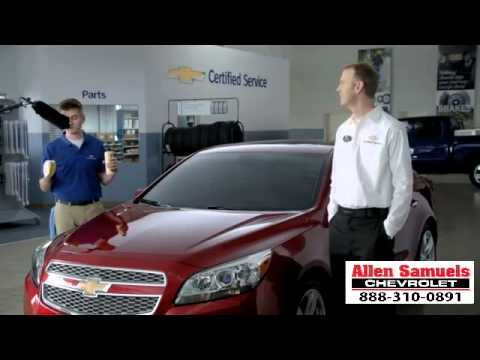 Por Allen Samuels Chevrolet · Corpus Christi,TX Waxing 2014 Chevy Certified  Cruze