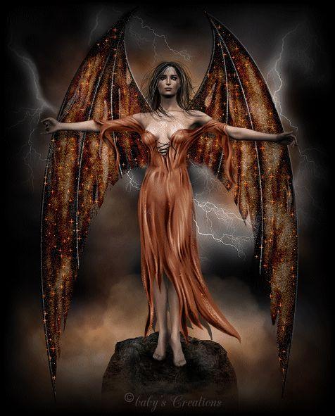 Unglaubliche Angel Dark