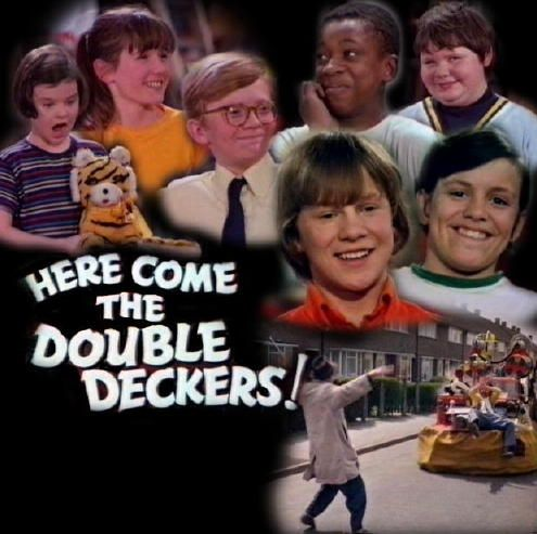 Get on board, get on board come and join the double deckers.