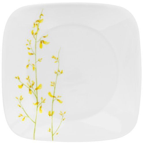 Corelle Square 10-1/4-Inch Dinner Plate, Kobe by Corelle. $16.28. Dishwasher safe for long lasting patterns. Patterns won?t wash, wear or scratch off. 3 year replacement warranty against breaking and chipping. Microwave and oven use for versatility. Corelle Square 10-1/4-inch Dinner Plate, Kobe