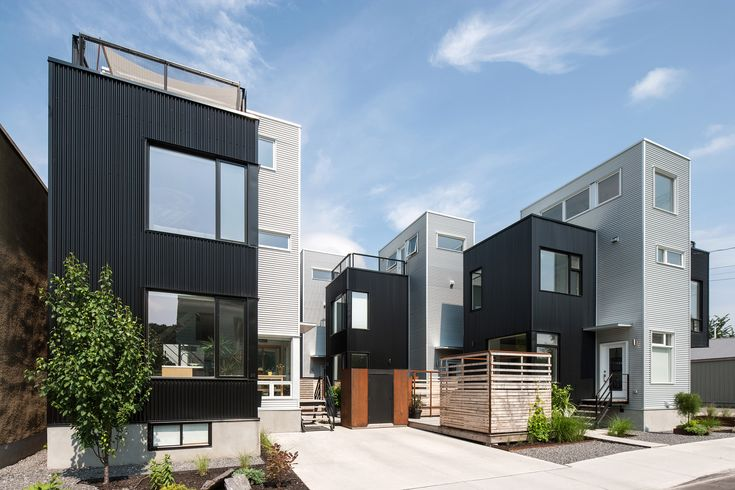Image 10 of 22 from gallery of The Hintonburg  Six / Colizza Bruni Architecture Inc.. Photograph by Peter Fritz