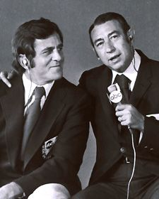 Don Meredith, along with Howard Cosell and Frank Gifford, helped make Monday Night Football an American institution