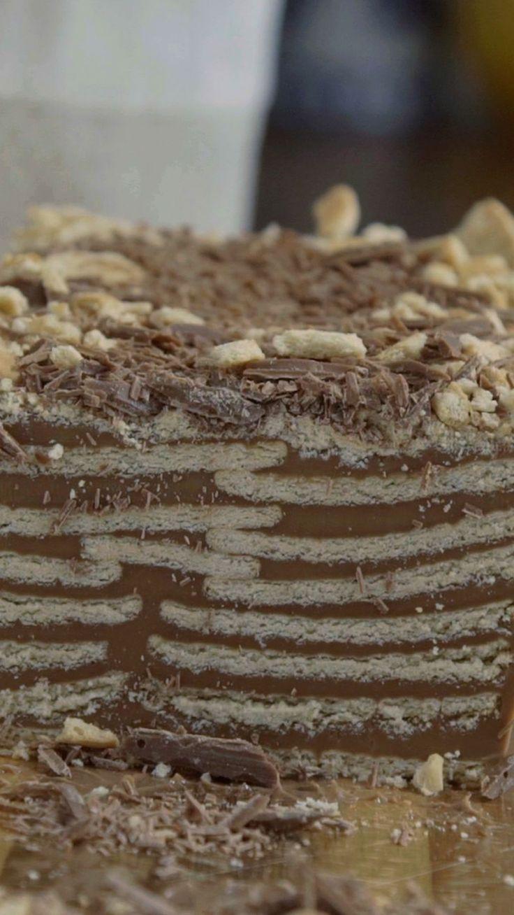 Uma torta de palha italiana para conquistar qualquer um.